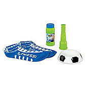 Messi Footbubbles Starter Pack With Socks - Blue