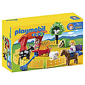 Playmobil 6963 123 Petting Zoo
