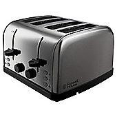 Russell Hobbs 18790 Futura 4 Slice Toaster - Stainless Steel
