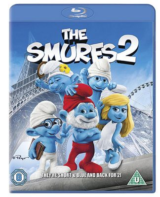 Smurfs 2 Blu-Ray