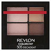 Revlon ColorStay™ 16 Hour Eyeshadow Quad Decadent