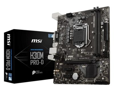 MSI H310M PRO-D Motherboard