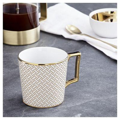 buy fox ivy soho links mug from our fox ivy soho dine. Black Bedroom Furniture Sets. Home Design Ideas