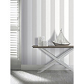 Arthouse Brilliance Stripe Wallpaper Mocha 891601