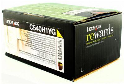 Lexmark C540H1YG Laser cartridge 2000pages Yellow toner &