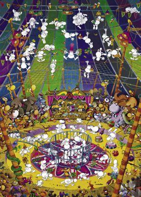 Crazy Circus - 1000pc Puzzle