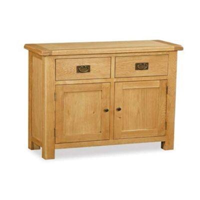 Zelah Oak Sideboard - Small Sideboard - Rustic Oak