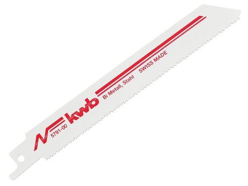 KWB Sabre Saw Blades Bi-Metal Medium S922BF (Pack of 2)