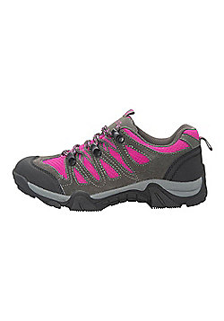 Mountain Warehouse Cannonball Kids Walking Shoes - Pink