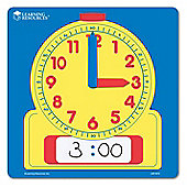 Learning Resources Wipe Clean Demonstration Clock