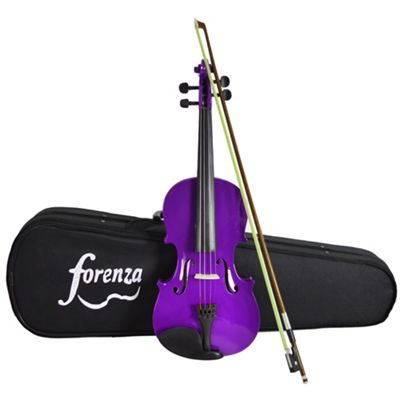 Forenza Uno Series Full Size Purple Violin Outfit