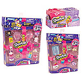 Shopkins Series 7 Gift Bundle - 2 pack, 5 Pack and 12 pack