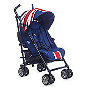 Easywalker MINI Buggy Union Jack Classic with raincover and footmuff