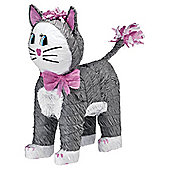 Grey Cat Pinata - 46cm tall