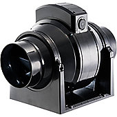 Manrose 100mm In-Line Mixed Flow Extractor Fan with Timer