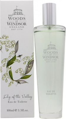 Woods of Windsor Lily of the Valley Eau de Toilette (EDT) 100ml Spray For Women