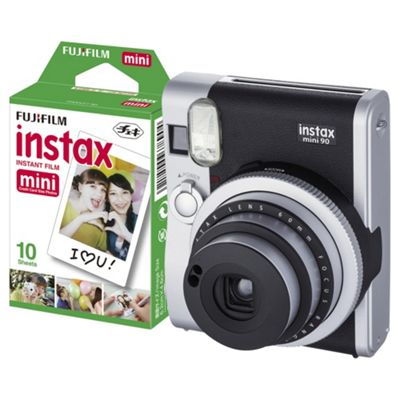 Fuji Instax Mini 90 10 Shot Bundle