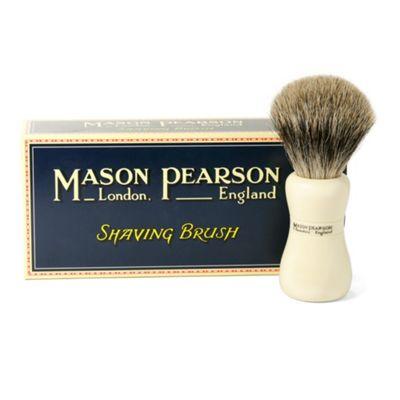 Mason Pearson Pure Badger Shaving Brush - Ivory SP