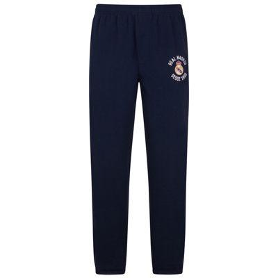 Real Madrid Mens Jog Pants Navy XL
