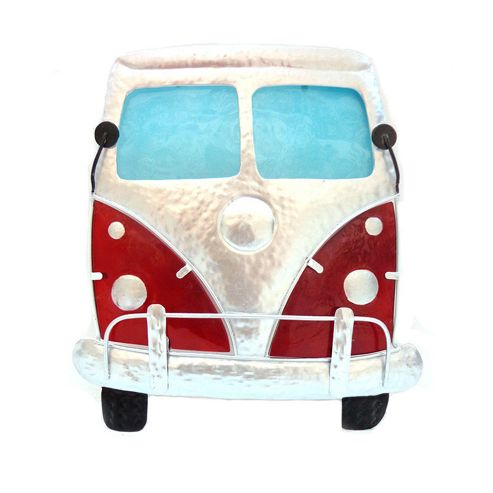 Novus Imports Campervan Stained Glass Metal Wall Art