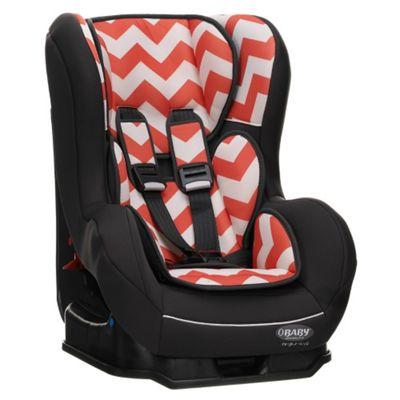 OBaby Group 0-1 Combination Car Seat (ZigZag Orange)