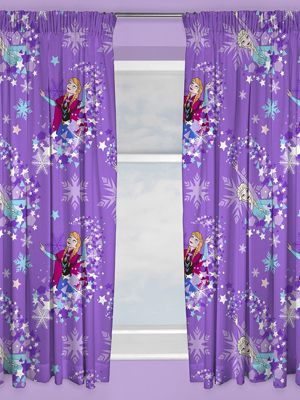 Disney Frozen Snowflake Curtains 54