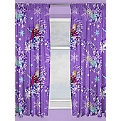 Disney Frozen Snowflake Curtains - Purple