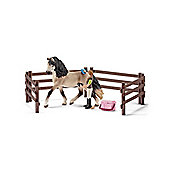 Schleich Horse Care Set Andalusian