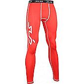 Sub Sports Dual Leggings - Red