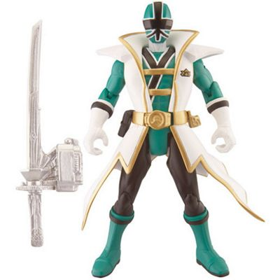 Power Rangers Super Samurai Action Figure - Green Super Samurai
