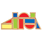 Liberty House Rainbow Blocks 10pc