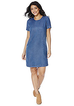 Only Denim Dress - Mid wash