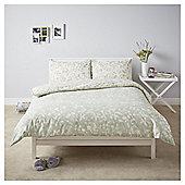 Willow Floral Duvet Set - Green