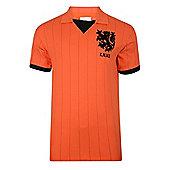 Holland 1983 Home Shirt - Orange