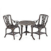 3 Piece Rose Armchair Patio Set