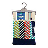 Country Club Microfibre To The Beach Striped Beach Towel 70 x 150 cm