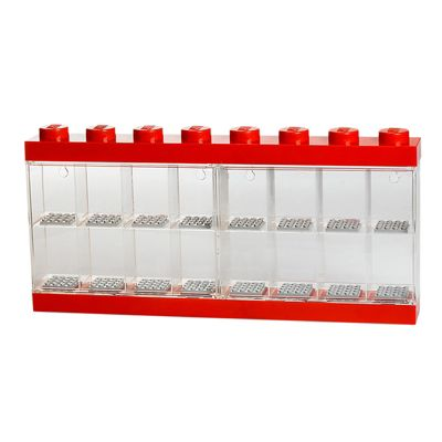 Lego Minifigure Display Case (RED)