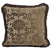 Riva Home Hanover Mocha Cushion Cover - 55x55cm