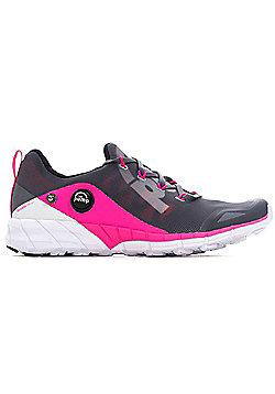 Reebok ZPump Fusion Womens Running Fitness Trainer Shoe Grey/Pink - UK 5