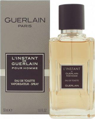 Guerlain L'Instant Pour Homme Eau de Toilette (EDT) 50ml Spray For Men