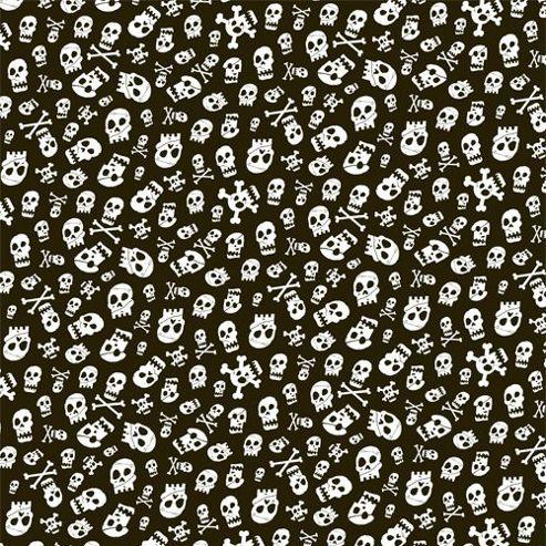 Gift Wrap - Skulls