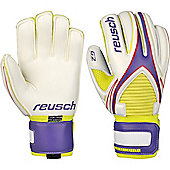 Reusch World Keeper G2 Goalkeeper Gloves Size - White