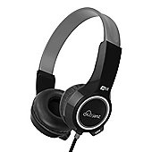 KidJamz KJ25 Safe Listening Headphones for Kids with Volume-Limiting Technology - Black