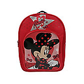 Disney Minnie Mouse 'Lipstick' PVC Front Backpack