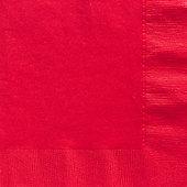 Red Napkins - Paper Dinner Napkins - 50 Pack