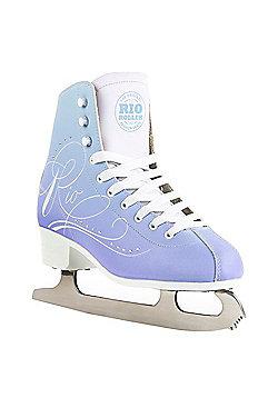 Rio Roller Moonlight Ice Skates - Blue