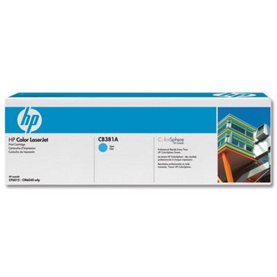 HP 824A LaserJet Toner Cartridge - Cyan