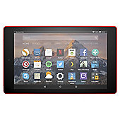 Amazon Fire HD 8 Tablet with Alexa Assistant 8 inch 16GB with Wi-Fi (2017) - Punch Red
