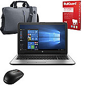 "HP 250 G5 15.6"" Laptop Intel Core i3-5005U 16GB 256GB SSD With Internet Security, Mouse & Case"