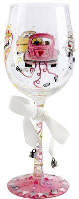 Lolita Wine Glass - Just Married